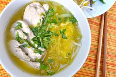 Spaghetti squash is a great way to go low-carb in most noodle recipes. But who knew it also tastes great in noodle soups! My version of Spaghetti Squash Pho (Vietnamese noodle soup) is a great way to stay healthy in this chilly fall weather.