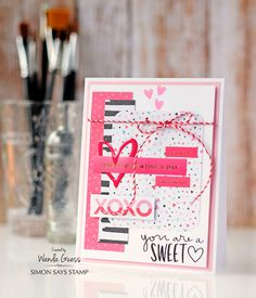 Simon Says Stamp Card Kit of the Month February 2016 SWEETHEART CKFEB16 at Simon Says STAMP!