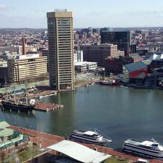 Inner harbor, Baltimore, MD