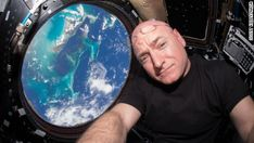 NASA astronaut Scott Kelly is back on Earth.