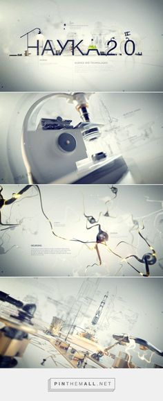 Science 2.0 on Behance... - a grouped images picture - Pin Them All