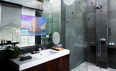 Fog Free Waterproof Bathroom TV Mirror – Time Saver or Time Wasting Trend?