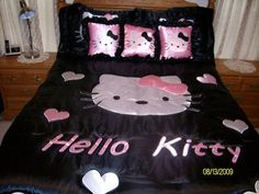 I found 'Hello Kitty Queen Bedset With Set Of Pillows' on Wish, check it out!