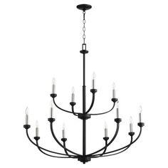 Quorum International Reyes Noir 12 Light Chandelier 6160 12 69 | Bellacor Classic Chandeliers, Chandelier Design, Candle Styling, Candelabra Light, Chandelier Lighting, Chandelier Style, Candelabra Bulbs, Candlelight, Chandelier