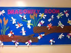 Dragonfly Room | Spring Bulletin Board Idea