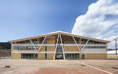 Shigeru Ban Architects\ Onagawa Station and a public bath were swept away by the tsunami in 2011. The new building was designed to contain the two facilities, and its opening ceremony was held on 21 March, 2015.