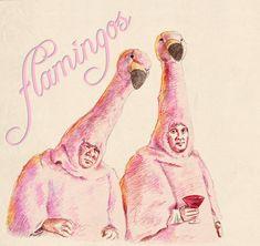 Boston Legal's Flamingo Biffles by ~tootsiemuppet on deviantART