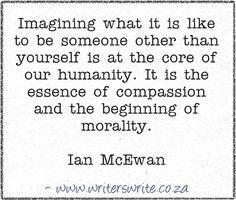 Quotable - Ian McEwan - Writers Write Creative Blog