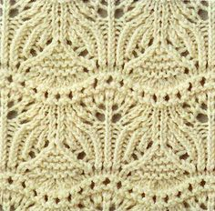 Beautiful Lace with Chart (and lots more charts for lace on this site)
