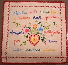 So Little Time, Needlepoint, Hand Embroidery, Needlework, Portugal, Cross Stitch, Felt, Cool Stuff, Crochet