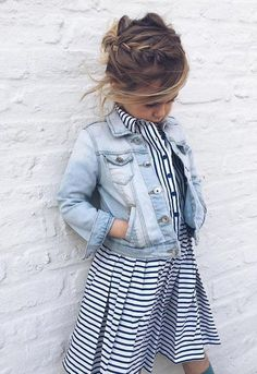 Cute denim jacket..