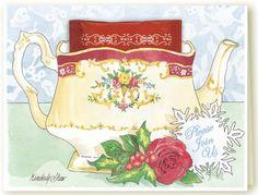 Kimberly Shaw Teapot Invitation