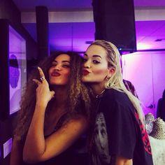 Beyoncè & Rita Ora December 2014