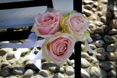 Rose per il matrimonio al Castello di Malcesine