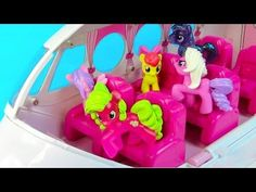 My Little Pony Baby Pinkie Pie CottonBelle Lullaby Moon MLP Toddler Ponies by Disney Cars Toy Club - YouTube