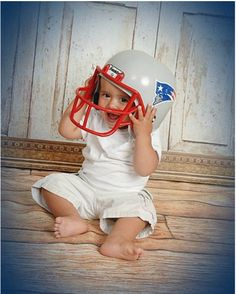 Where are my chin straps!? #Patriots #LilPatsFans