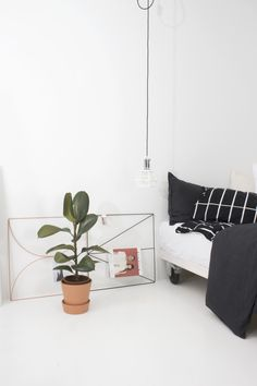 Wallment is a product family consisting of beautiful yet practical interior design products with a modern Scandinavian design touch. Scandinavian Style Bedroom, Scandinavian Design, Herb Wall, Metal Grid, Nordic Home, Grid Design, Nordic Design, Metallic Paint, Home Office