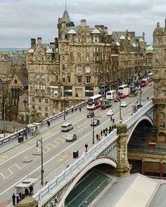 North Bridge of The Bridges, Edinburgh Scotland Uk, England And Scotland, Scotland Travel, Scotland Kilt, Aberdeen Scotland, Highlands Scotland, Glasgow, Edinburgh City, Places To Travel