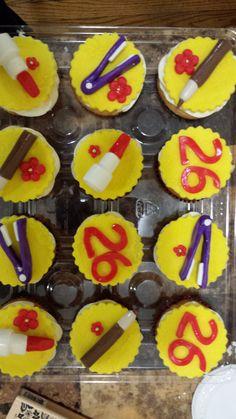 Hair & Makeup Lovers Cupcakes