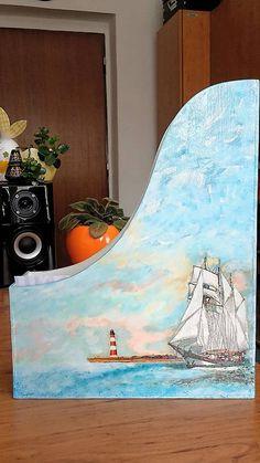 impresionizmus / Dekor zakladač -loď