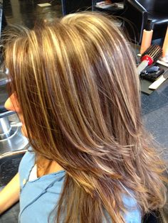 Blonde+High+and+Low+Lights | Pinterest High And Low Lights Hhair ...