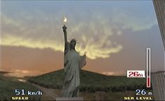 The Statue of Liberty, as seen in Pilotwings 64 Sea Level, Virtual Tour, My Childhood, Statue Of Liberty, Video Games, Tours, Activities, Check, Movie Posters