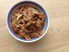 lidt om alt - og meget om mad: fennikelfræs | fennikelsalat med balsamico, chokolade & pinjekerner