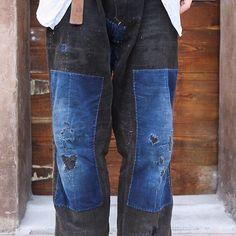 Patchwork denim #pinterest #patchwork #patches #denimlovers #denimaddicted #coolstyle #styleblog #styleblogger #indigo #vintage #mensstyle #menswear #patchworkdenim #denimlife #denimblog #vintageinspired #workwear #jeanslovers #outfitinspiration #authentic #heritage #lookoftheday #blackdenim #cool #style