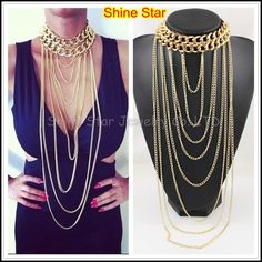 beautiful necklace/body chain