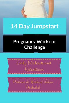 14 DAY PREGNANCY WORKOUT CHALLENGE {free}  If you're up for it, join my 14-DAY PREGNANCY WORKOUT CHALLENGE. I will send you SHORT, DAILY WORKOUTS with videos, pictures and motivation. You will see how amazing you look and feel after 14 short days.  Click here to start the challenge and get your first workout.  http://michellemariefit.com/pregnancy-workout-challenge