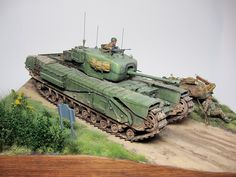 Churchill Mk.VI in Normandy by Takayuki Kawase