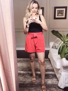 Adding some great dressy shorts, my favourite tank tops to my summer wardrobe.