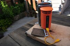 BioLite CampStove beautifully burns through biomass #tech #stove #camping #backpacking