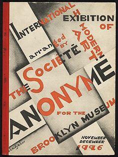 International Exhibition of Modern Art, 1926 . John Henry Bradley Storrs papers, Archives of American Art, Smithsonian Institution.