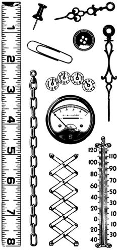 Gadgets - Clear Stamps
