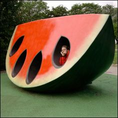 The Fruit and Scent Playground Liljeholman Sweden   From David Israel's 10 Unusual Playgrounds from Around the World