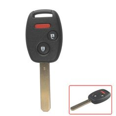 Remote Key (2+1) Button and Chip Separate ID46 (433MHZ) For 2005-2007 Honda