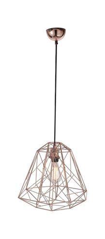Stylische Hängeleuchte in Kupferfarbe - bringt Licht in Ihr Zuhause