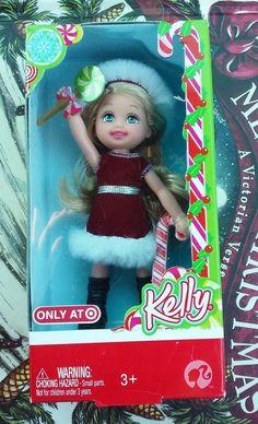 2008 NIB Kelly Doll Holiday Christmas Barbie Family Great Gift!  | eBay