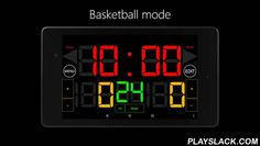 Scoreboard Basketball  Android App - playslack.com , It's Scoreboard app for basketball. It is recommended for use in basketball.Font size is displayed in the full scale of a screen. And buzzer is large volume.Scoreboard is simple design and easy to use! How to use Bluetooth:Please download Scoreboard Remote. This scoreboard has four display types:- Simple Mode (Timer & Scores)- Basketball Mode (Timer & Scores & Shot Clock)- Shotclock Mode (Timer & Shot Clock)- Basketref Mode (Sc