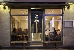 London Restaurant Find: Koya | meltingbutter.com Restaurant Facade, Ramen Restaurant, Ramen Bar, Ramen Shop, Chinese Restaurant, Japanese Udon, Japanese Bar, Small Restaurants, London Restaurants