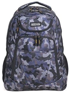 Kenneth Cole Reaction Tribute 17 Laptop Backpack - Camo