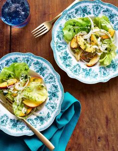 Curtis Stone's Recipe for a Summer Salad With Nectarines and Fennel