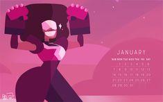Steven Universe Fan Art! — weirdlyprecious:   2018 Calendar the birthstone of...