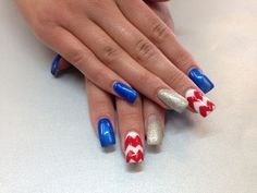 Fun for the 4th! with Gelish!