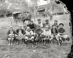 "Shorpy Historic Picture Archive :: Dalton All-Stars: 1910. ""Dalton All-Star baseball team -- Elm Street Field, Dalton, Penna.""high-resolution photo"