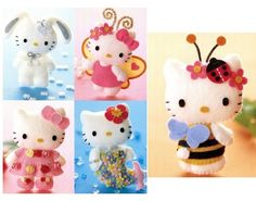 Moldes Hello Kitty - Ver e Fazer