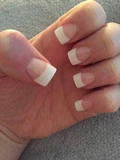 Photo of Tips & Toes Nail Salon & Spa - Redmond, WA, United States. French Tip Acrylic Nails, Clear Acrylic Nails, French Nails, Christnas Nails, Nail Salon And Spa, Wide Nails, Nail Tips, Nail Ideas, Teen