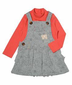 Toddler Girl Snow Bear Dress and Top | Hallmark Baby Clothes