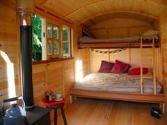 It is perfect. I am sat in the hut. The rain is lashing on the roof. The stove is lit. So thank you.' John Britton, Writer
